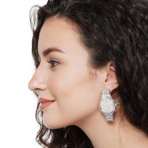 WATCH STYLE EARRING