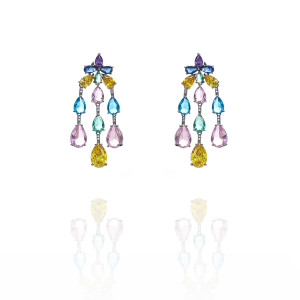DIAMANTE EARRING
