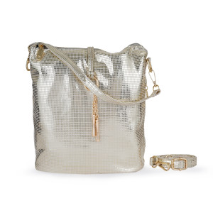 GOLD SHINE  HANDBAG