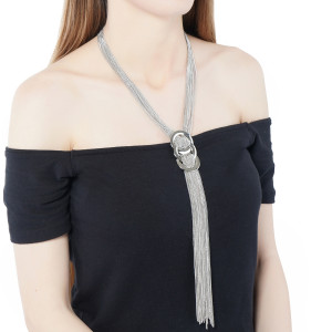 KNOT OF LAYER NECKLACE